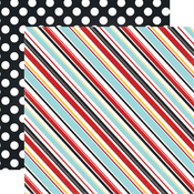 Silly Stripes Paper - Magical Adventure - Echo Park