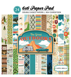 The Great Outdoors 6 x 6 Paper Pad - Carta Bella