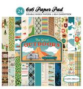 The Great Outdoors 6 x 6 Paper Pad - Carta Bella