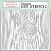 Woodgrain #2 Stencil - Carta Bella