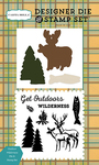 Outdoor Wilderness Die & Stamp Set - Carta Bella
