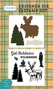 Outdoor Wilderness Die & Stamp Set - Carta Bella