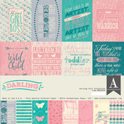 Darling Girl Collection Kit - Authentique