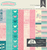 Darling Girl Paper Pad - Authentique