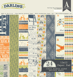 Darling Boy Paper Pad - Authentique