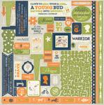Darling Boy Details Sticker Sheet - Authentique