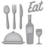 Foodie - Spellbinders Shapeabilities Die D-Lites