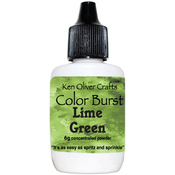 Lime Green - Ken Oliver Color Burst Powder 6gm