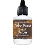 Burnt Umber - Ken Oliver Color Burst Powder 6gm