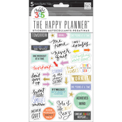 Fitness Stickers - The Happy Planner - Me and My Big Ideas