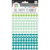 Colorful Dots Stickers - Create 365 Happy Planner - Me and My Big Ideas