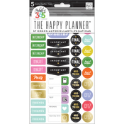 School College Stickers - Create 365 Happy Planner - Me and My Big Ideas