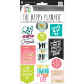 Life Quotes Stickers - Create 365 Happy Planner - Me and My Big Ideas