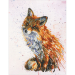 """8.75""""X11.5"""" 16 Count - Foxy Counted Cross Stitch Kit"""