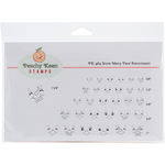 Snowmany - Peachy Keen Stamps Clear Face Assortment 31/Pkg