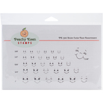Snow Cuties - Peachy Keen Stamps Clear Face Assortment 31/Pkg