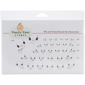 Frosty Friends - Peachy Keen Stamps Clear Face Assortment 32/Pkg