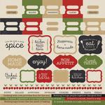 Bon Appetit Cardstock Stickers - KaiserCraft