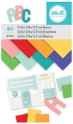 Multi Colored 3 x 5 Paper Pad - We R Memory Keepers