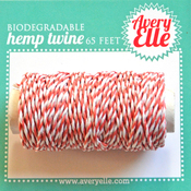 Strawberry - Avery Elle Hemp Twine 65ft