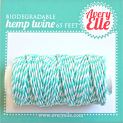 Aquamarine - Avery Elle Hemp Twine 65ft