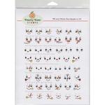 Winter Sampler - Peachy Keen Stamps Clear Face Assortment 48/Pkg