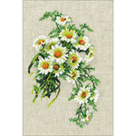 """11.75""""X8.25"""" 16 Count  - Cosmos Counted Cross Stitch Kit"""
