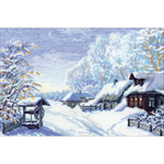 "15""X10.25"" 16 Count  - Russian Winter Counted Cross Stitch Kit"