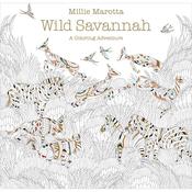 Wild Savannah Coloring Book - Lark Books