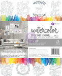 Watercolor Coloring Book Volume 2 - Prima