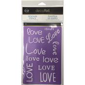 Love - Deco Foil Stencils