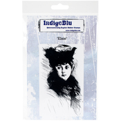 "Elsie - IndigoBlu Cling Mounted Stamp 5""X4"""