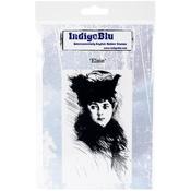 "Elsie - IndigoBlu Cling Mounted Stamp 5""X4"""