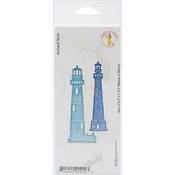 "Lighthouses, 3.5""X1.5"" - Cheery Lynn Designs Die"