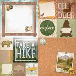 Fishing Paper - Take A Hike - Bo Bunny
