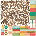 Fresh Picked Alpha Sticker Sheet - Photoplay