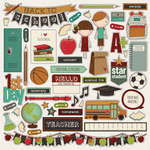 Real Genius Element Sticker Sheet - Photoplay