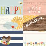 4 x 6 Journal Card Paper - Bloom & Grow - Simple Stories