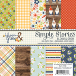 Bloom & Grow 6 x 6 Paper Pad - Simple Stories