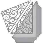 Filigree Side Pocket - Spellbinders Shapeabilities Dies