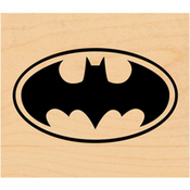 Batman Logo - DC Comic Rubber Stamp