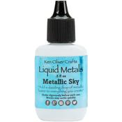 Metallic Sky - Ken Oliver Liquid Metals