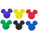 Disney Glitter Mickey - Dress It Up Licensed Embellishments