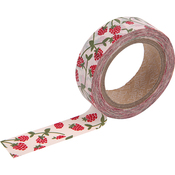 Raspberry - Love My Tapes Washi Tape 15mmx10m