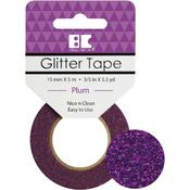 Plum - Best Creation Glitter Tape 15mmX5m