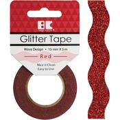 Red Wave - Best Creation Designer Glitter Tape 15mmX5m