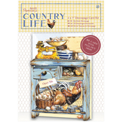 Dresser - Papermania Country Life Decoupage Card Kit