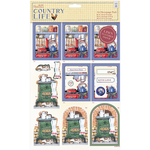 Country Kitchen, Linen Finish - Papermania Country Life A4 Decoupage Pack