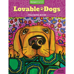 Lovable Dogs Coloring Book - Design Originals