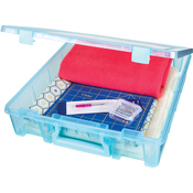 "15.25""X14""X3.5"" Aqua Mist - Artbin Super Satchel Single Compartment"